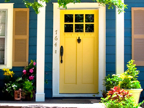 Paint Door for Curb Appeal